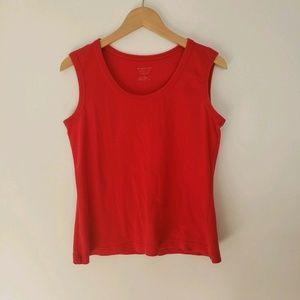 Womens Tank Top Large Christopher & Banks